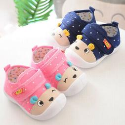 0-3Y Newborn Baby Soft Sole Shoes Sneakers For Infant Toddle