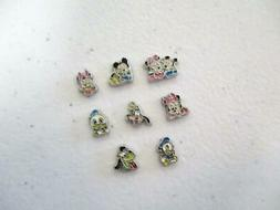 1 Baby Disney Floating Charm for Memory Locket Mickey Minnie