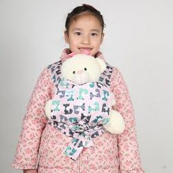 1 Baby Doll Carrier Mei Tai Sling Toddler Birthday Christmas
