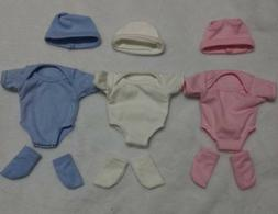 """1 Set colthes for 11"""" Newborn Baby for Reborn Boy/Girl Outfi"""