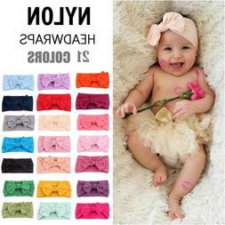 21 Colors <font><b>Baby</b></font> Headband Turban Knotted <