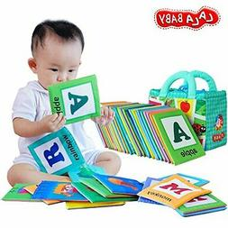lalababy 26 letters cloth card with cloth