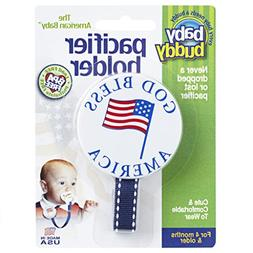 Baby Buddy American Baby Pacifier Holder. Styles may vary fr
