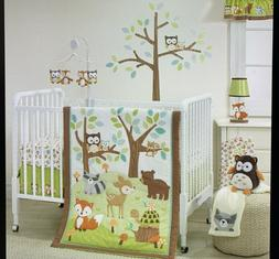Bedtime Originals Friendly Forest Woodland, 3 Piece Bedding