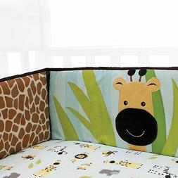 Lambs & Ivy Peek A Boo Jungle Bumper