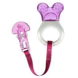 MAM Baby Toys, Teething Toys, Mini Cooler Teether with Clip,