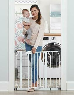 Regalo Easy Step 39-Inch Extra Wide Baby Gate, Bonus Kit, In