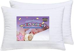 Utopia Bedding - Dreamy Baby Pillow - Two Toddler Pillow Bun