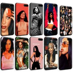 Aaliyah Baby Girl Soft TPU Case for iPhone XS Max X 8 7 6 6S