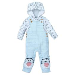Authentic Disney Store Tigger Dungaree Set for Baby Boy/Girl