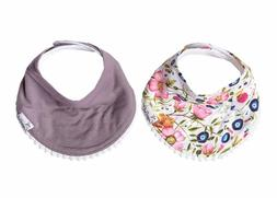 Baby Bandana Drool Bibs For Drooling And Teething 2-Pack Fas