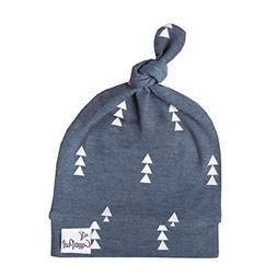 """Baby Beanie Hat Top Knot Stretchy Soft for Boy """"North"""" by Co"""