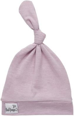 """Baby Beanie Hat Top Knot Stretchy Soft for Girl""""Lily"""" by Cop"""