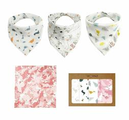 baby bibs for teething boys or girls