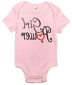Baby Bodysuit - Girl Power Cute Baby Clothes Romper for Infa