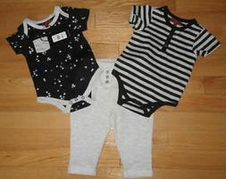 7 For All Mankind Baby Boy 3PC Set