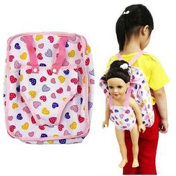 Baby Doll Carrier Backpack Adorable Accessory For Fits 15 to