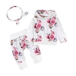 Baby Girl Clothes Sets For Children Long Sleeve Print Toddle