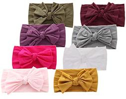 baby headbands turban knotted girls hairbands
