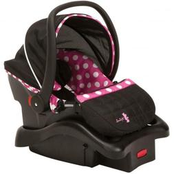Disney Baby Light 'n Comfy 22 Luxe Infant Car Seat, Minnie D
