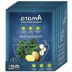 Baby Meals Food, Kale Potato, Healthy And Infant Organic Fru