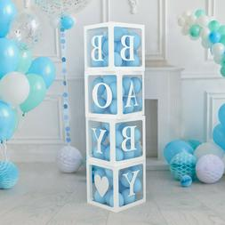 Baby Shower Decorations Boxes for Baby Boy and Girl |  - 4 W