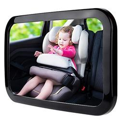 Zacro Baby Car Mirror, Shatter-Proof Acrylic Baby Mirror for