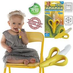 Baby Banana Toothbrush SAFE FOR BABY Chewable Bendable Train