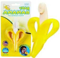 Banana Toothbrush Teether Silicone for Baby Infant