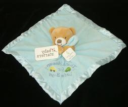 Baby Starters Blue Tan Bear Thank Heaven For Little Boys Sec