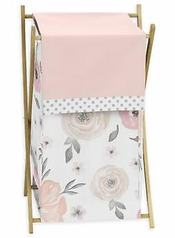 Sweet Jojo Designs Blush Pink, Grey and White Baby Kid Cloth