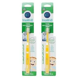 Brilliant Baby Toothbrush 2pk  for Front Teeth