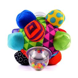 Bumpy Ball for baby developmental bright color and easy-to-g