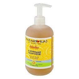 California Baby Calendula Shampoo & Body Wash - French Laven