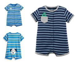 Carter's baby Boy's 2pc Short sleeve Rompers sold in lot of