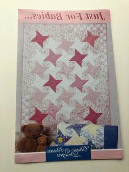 Chase-Adams Designs Just For Babies Quilt Sewing Pattern, Ne