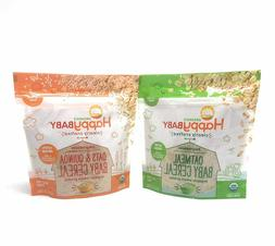 Happy Baby - Clearly Crafted Organic Baby Cereal 2pk - Oatme