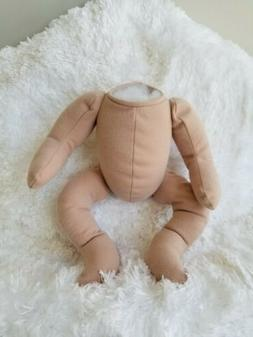 """Cloth doll Body for 19"""" TO 20"""" Reborn Doll supplies"""
