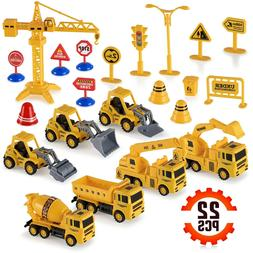 Construction Trucks Toy Set Toys for Kids Boys and Girls Age