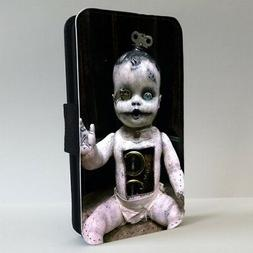 Creepy Baby Doll Horror FLIP PHONE CASE COVER for IPHONE SAM