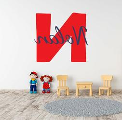 Customizable cute name wall decal perfect nursery for a baby