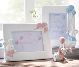 Cute Bunny Photo Frame Nursery Room Desk Accessories For Bab