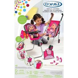 Graco Deluxe 5-In-1 Baby Doll Accessory Playset: 13 Pc. with