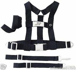 Baby Buddy Deluxe Security Harness Leash Shopping Cart Strol