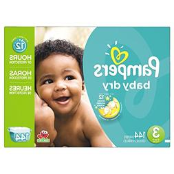 Pampers Baby Dry Diapers Size 3 Giant Pack, 144 ea