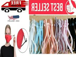 DIY Mask Sewing Elastic Band with Adjustable Buckle For Face