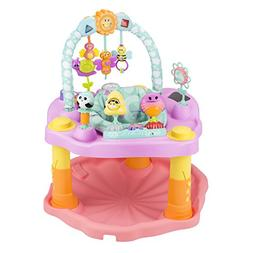 ExerSaucer Double Fun Bumbly Activity Center - Pink