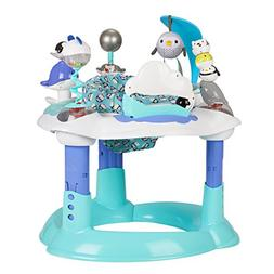 New Evenflo ExerSaucer Bounce & Learn-Polar Playground Activ
