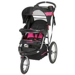 Baby Trend Expedition Jogger Stroller Bubble Gum for Toddler