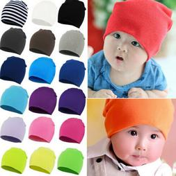 Fashion Cotton Beanie For New Baby Boy Girl Kids Children So